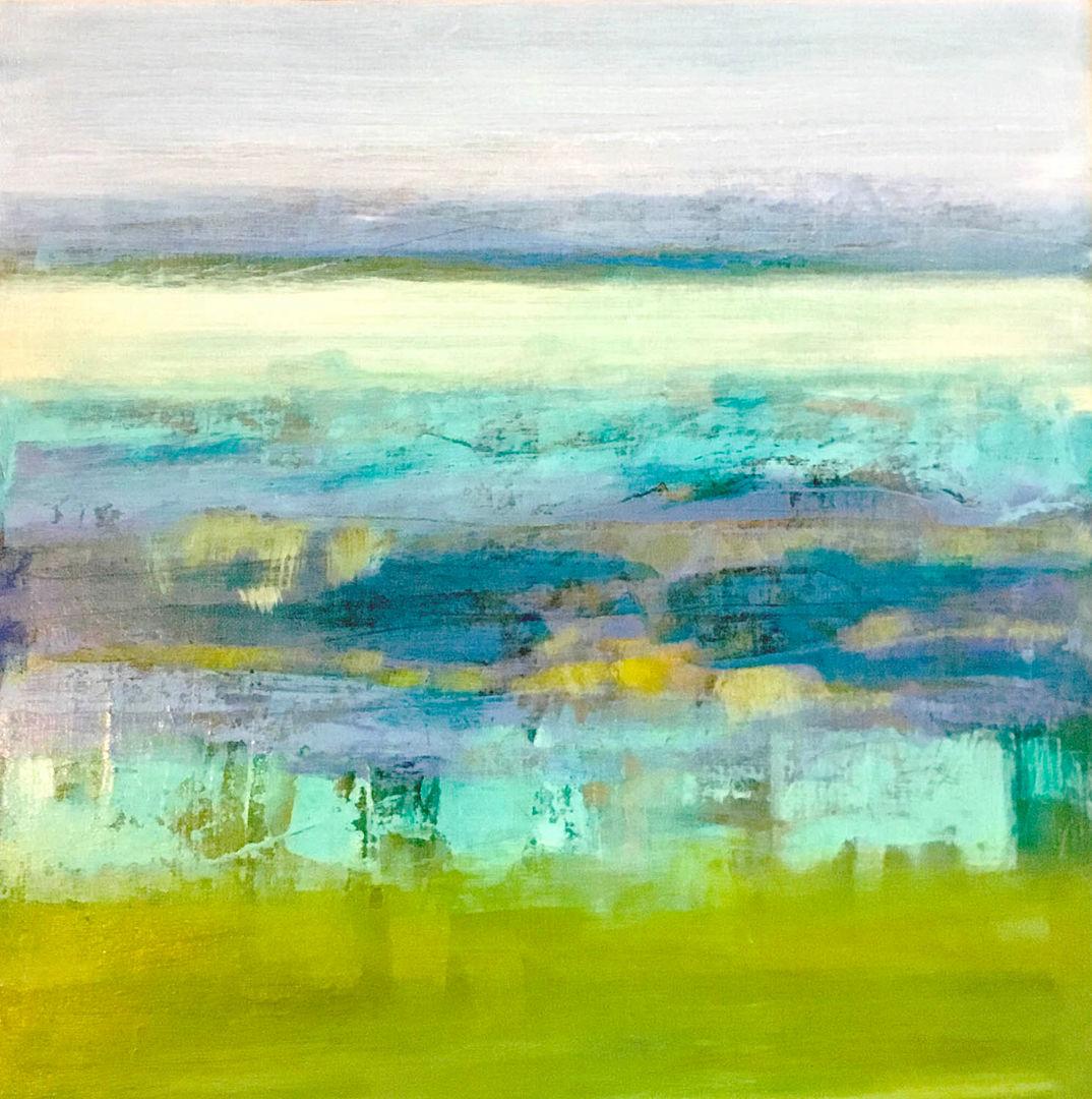 'Spring Tide' Dianne Gardner Acrylic on Board 40x40cm £350