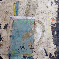 'Fresco Still Life' John Hall Mixed Media 22x22cm £390