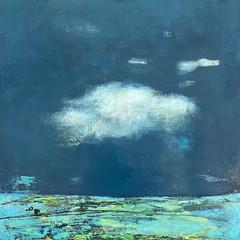 'Sometimes'  Morag Smith  Acrylic on Board  30 x 30cm  £520