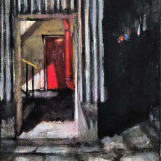 Mary_Butterworth_No_Way_Out_acrylic_on_p