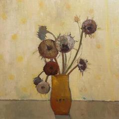'Yellow Room' Victoria Broxton Oil on linen board 40x40cm £975
