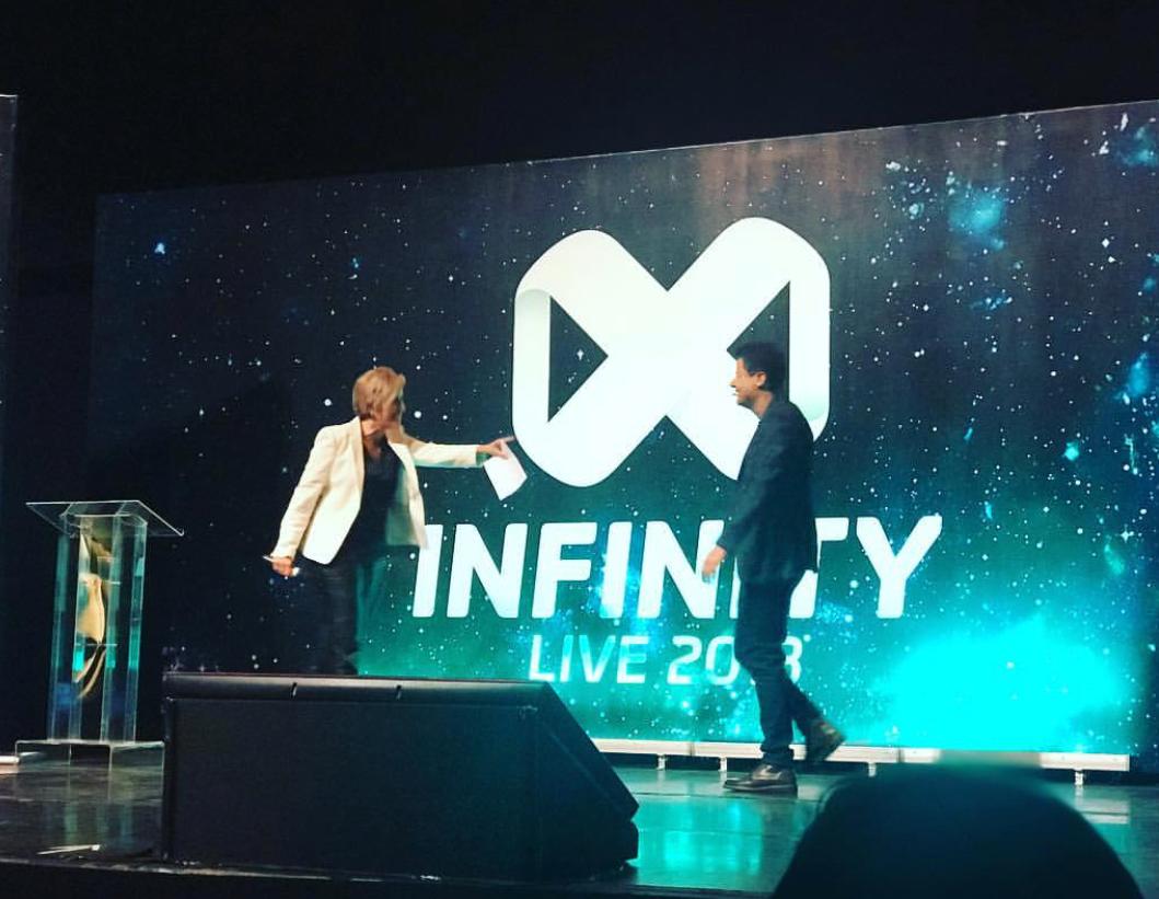 Evento Infinity