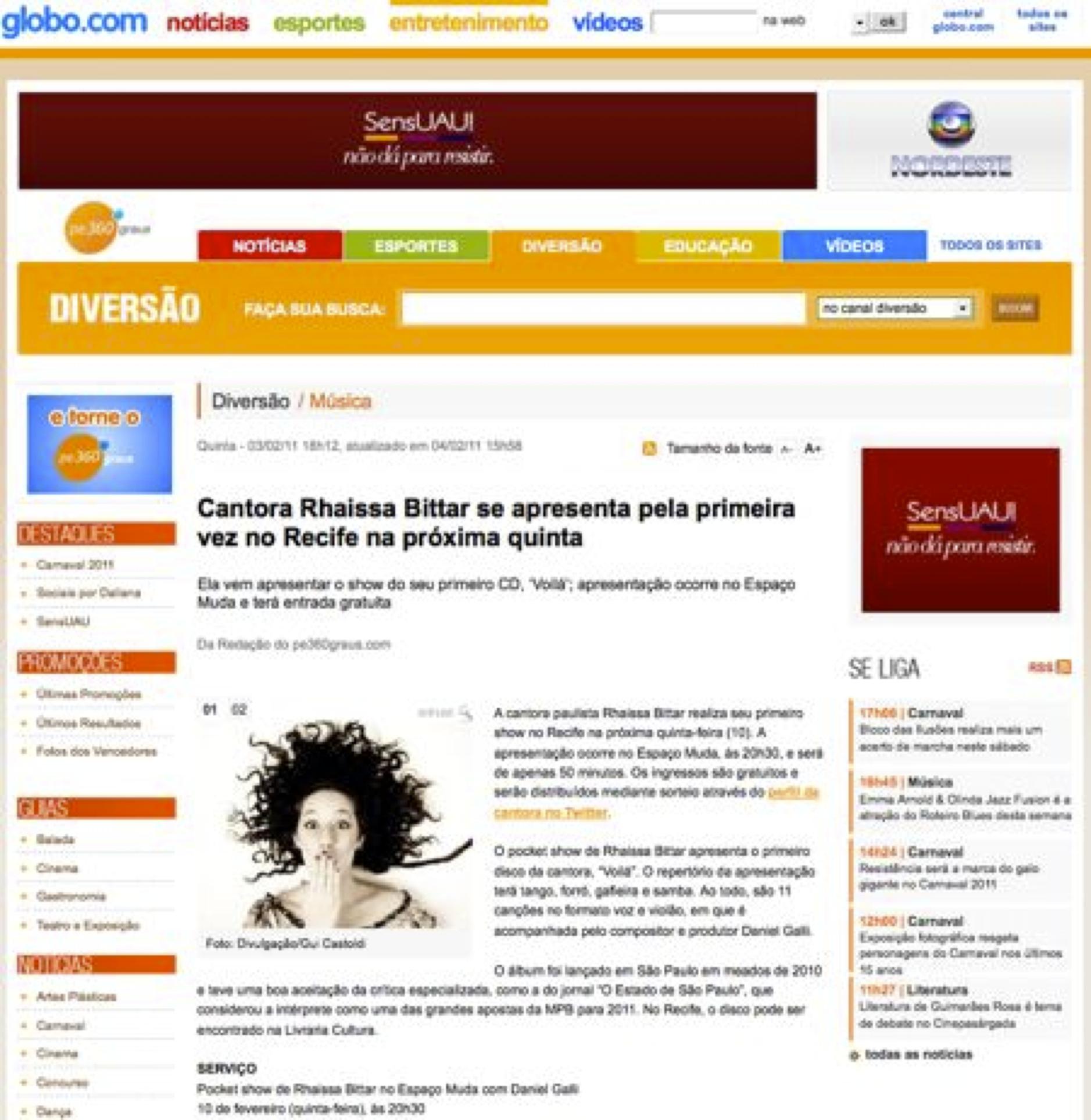 2012 - Globo.com