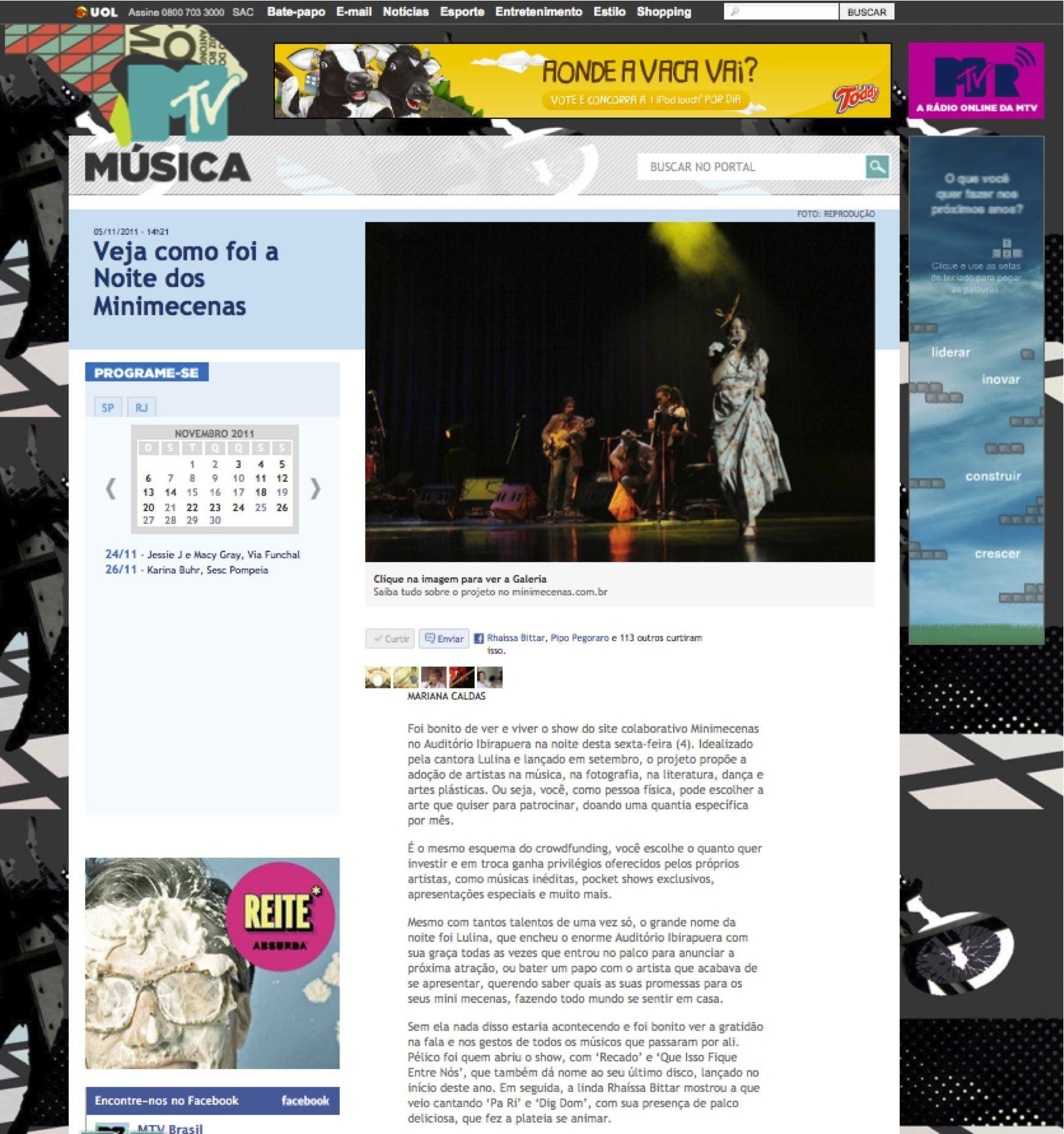 2011 - MTV Brasil