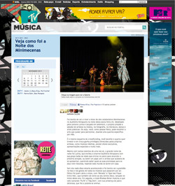2011 - portal da MTV Brasil