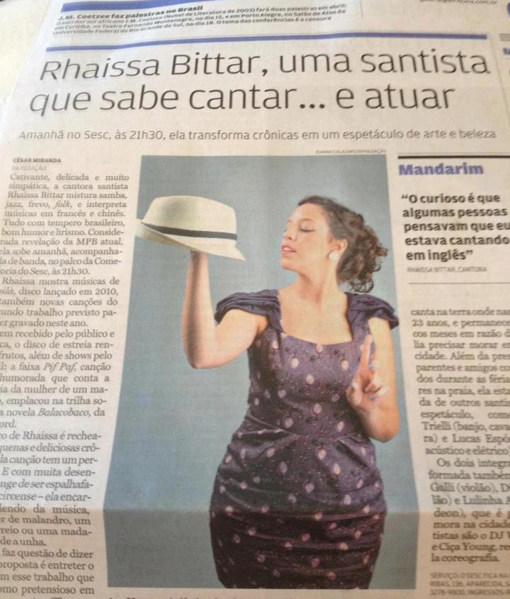 2013 - A Tribuna newspaper