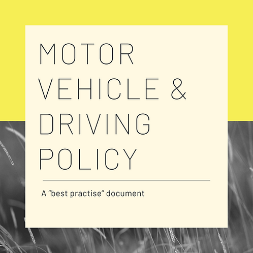 Motor Vehicle & Driving
