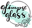 glimpse glass stained glass logo