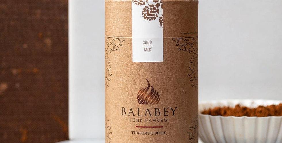 Balabey Sütlü Türk Kahvesi  250 gr Kutu