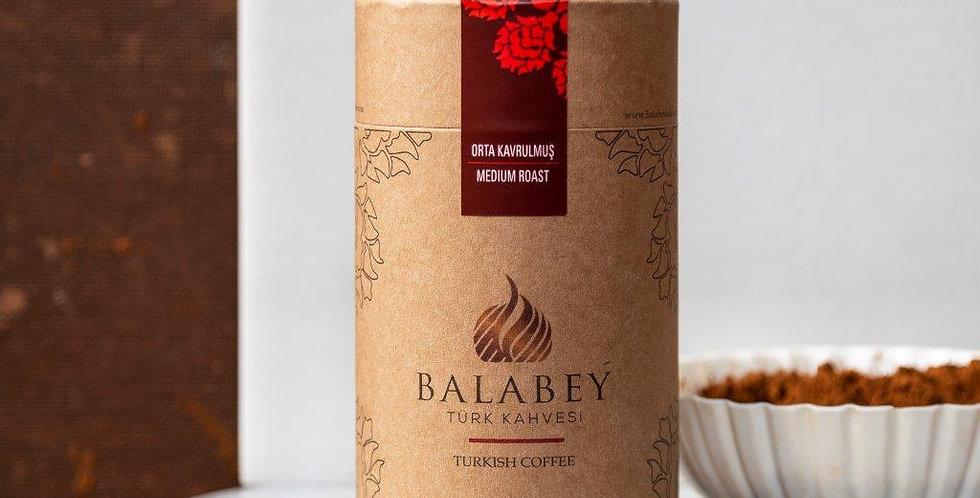 Balabey Orta Kavrulmuş Türk Kahvesi 250 gr Kutu