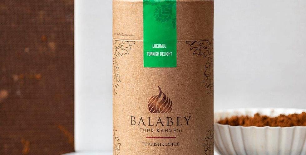 Balabey Lokumlu Türk Kahvesi  250 gr Kutu