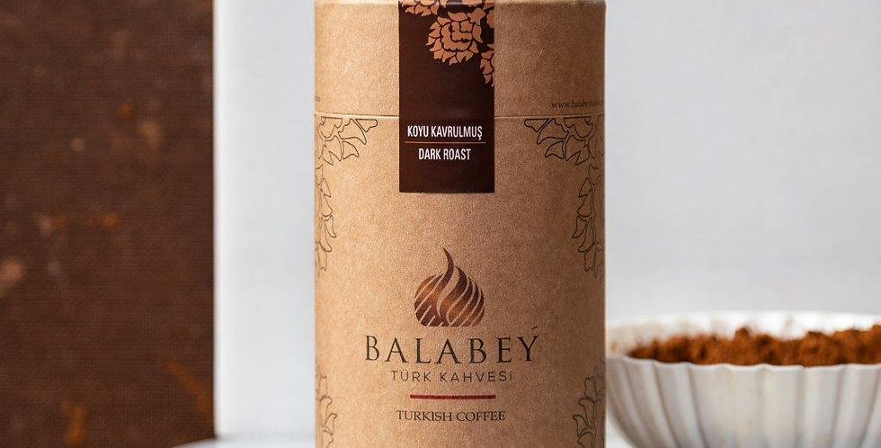 Balabey Koyu Kavrulmuş Türk Kahvesi 250 gr Kutu