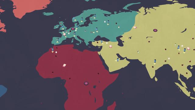 Plateau du jeu de (notre) société