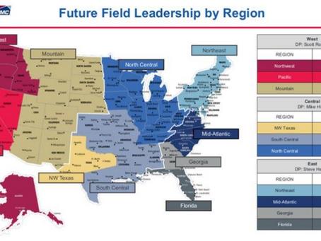 Executive Leadership Team, Regions for BFS-BMC Merger Announced