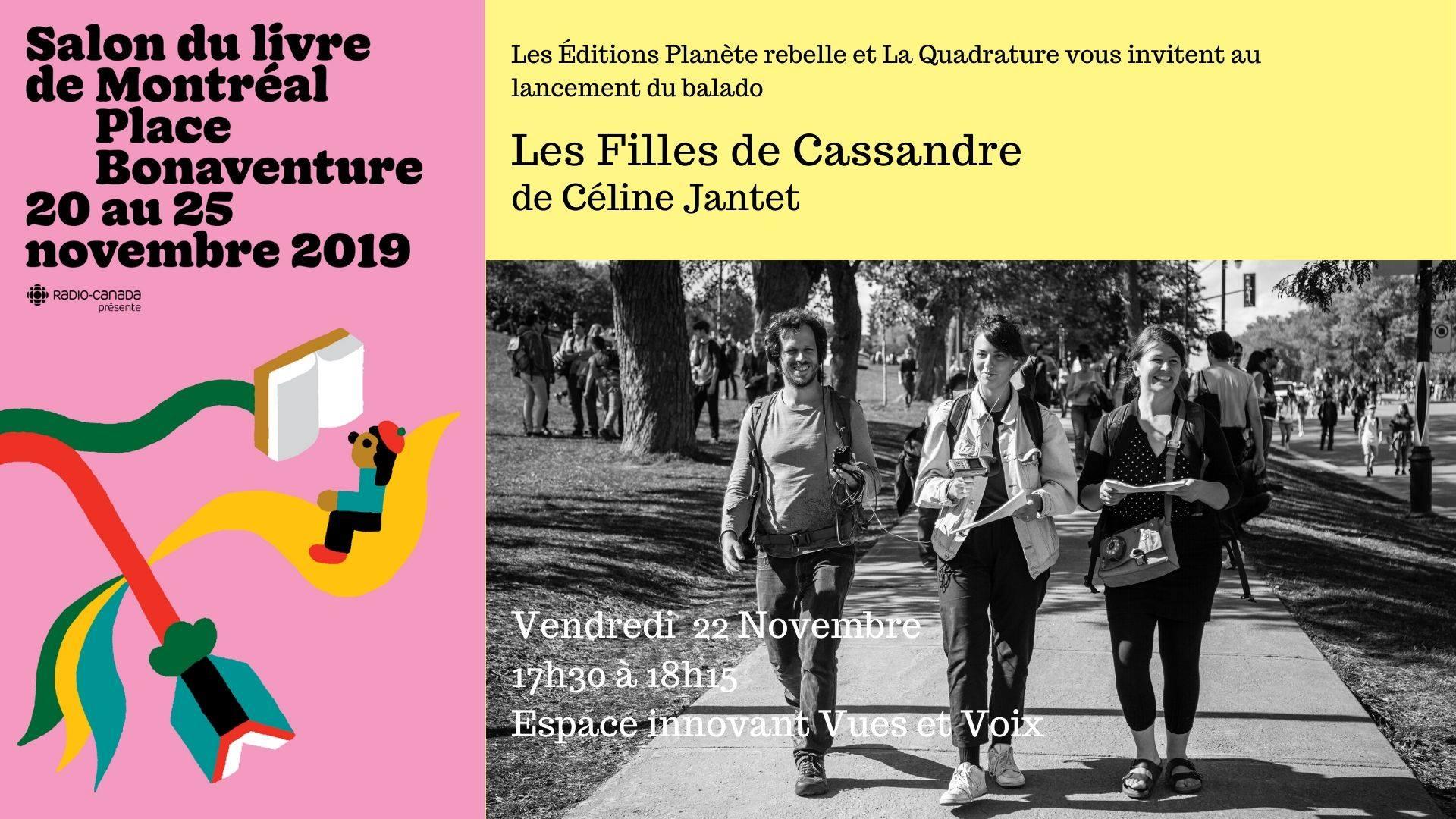 Les filles de Cassandre (Affiche 2019)