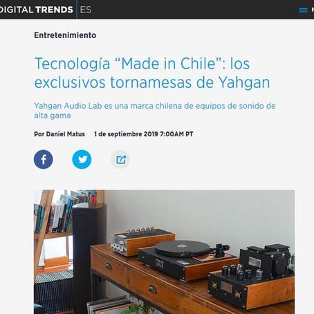 Digital Trends | Español: los exclusivos tornamesas de Yahgan