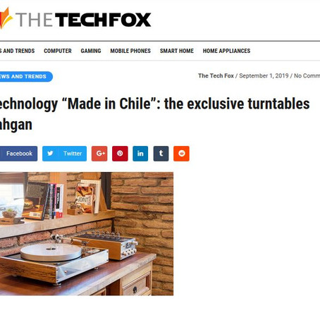 Technology made in Chile: The exclusive turntables Yahgan