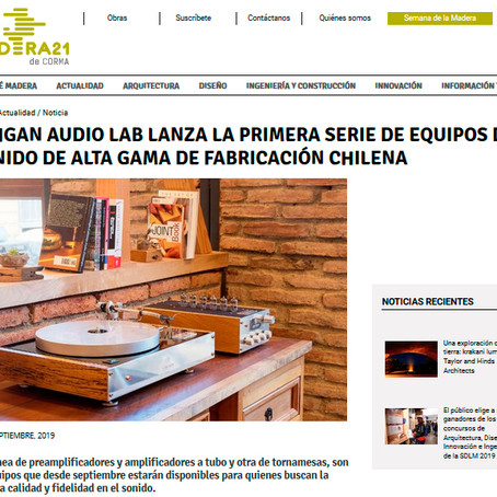 Yahgan Audio Lab lanza la primera serie de equipos de sonido de alta gama de fabricación chilena