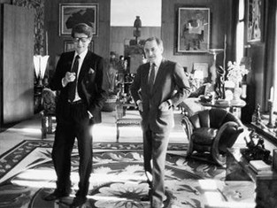 Pierre Bergé & Yves Saint Laurent