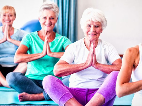 Teaching Mindfulness, Learning Peace: The Benefits of Yoga for Seniors and Caregivers