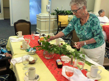 A Rose is a Rose is a Therapy Session: The Art and Benefits of Flower Arranging