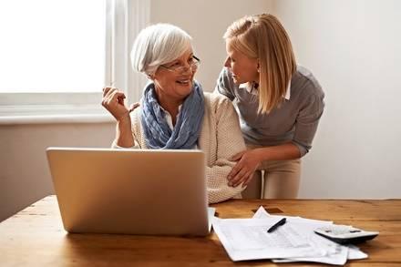 mother daughter finances