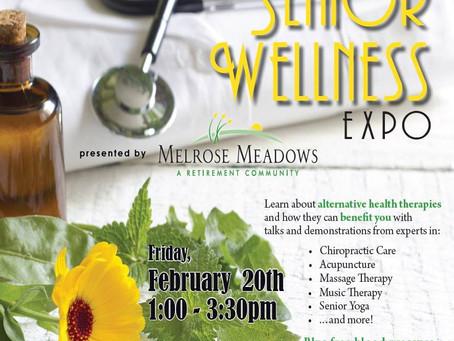 The Benefits of Alternative Medicine for Seniors/Melrose Meadows Senior Wellness Expo