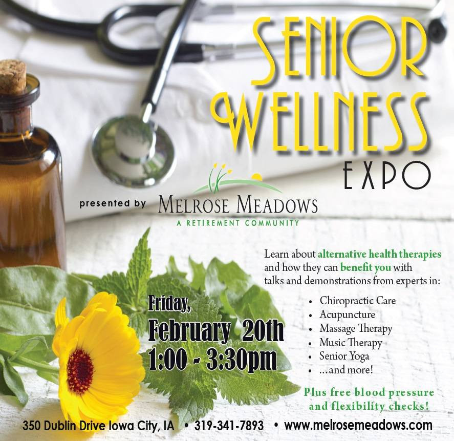 Wellness expo invite email