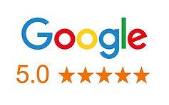 cinq étoiles google