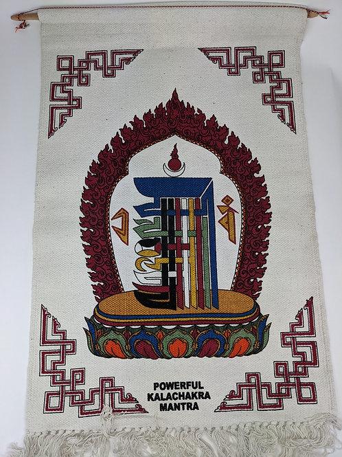 Thangka in Cotone con Kalachakra
