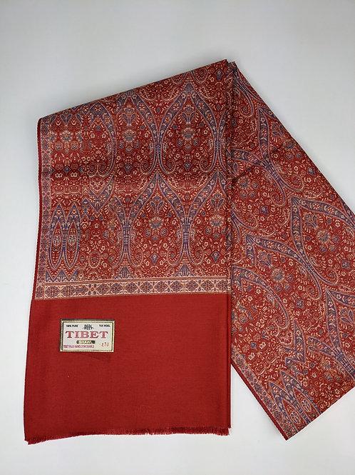 Difettata Sciarpa Tibetana in Seta e Cotone - Art.14