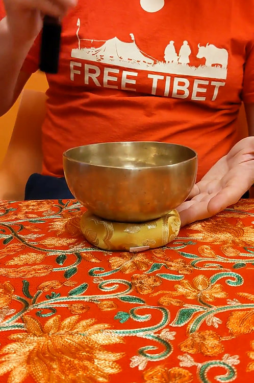 Campana tibetana 13.5Cm - C12