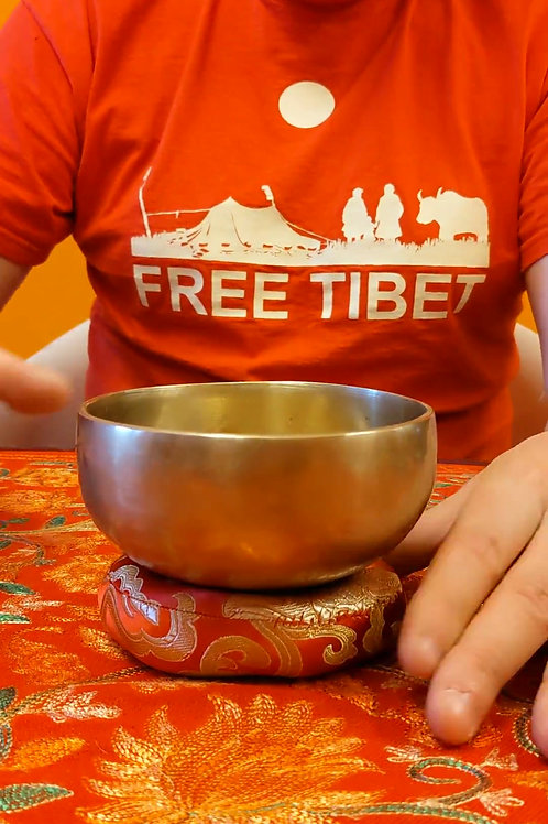 Campana tibetana 12.5Cm - CT42