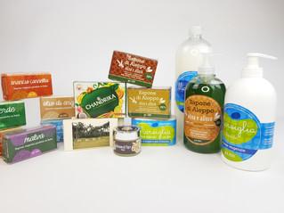 Ingredienti del sapone naturale