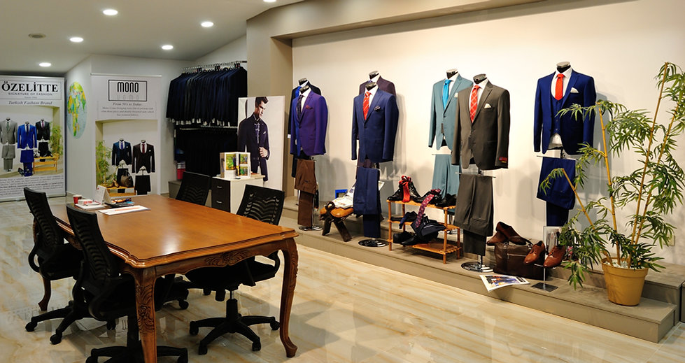 Showroom of Mono Uomo
