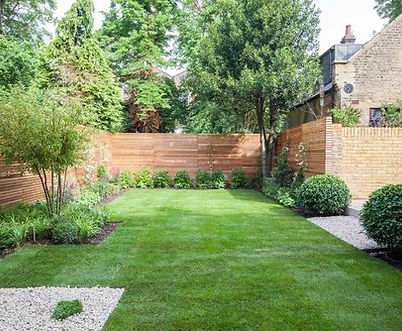 Contemporary Garden in St Johns Wood designed by Simon Orchard Garden Design