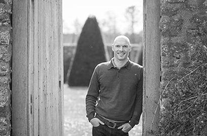Simon Orchard, owner & lead designer of Simon Orchard Garden Design