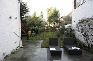 The garden in St Johns Wood before the redesign - Simon Orchard Garden Design