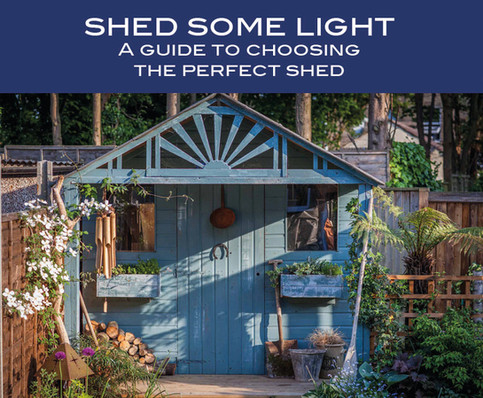 Shed some light - a guide to buying the perfect shed