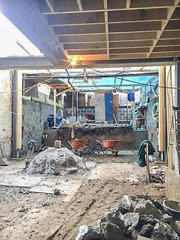 Basement conversion dig out