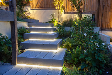 LED strip lighting on garden step.jpg