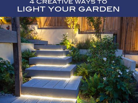 4 Creative Ways to Light Your Garden