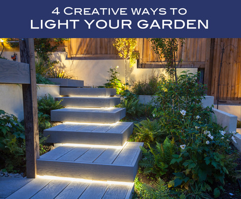 4 Creative Ways to Light Your Garden