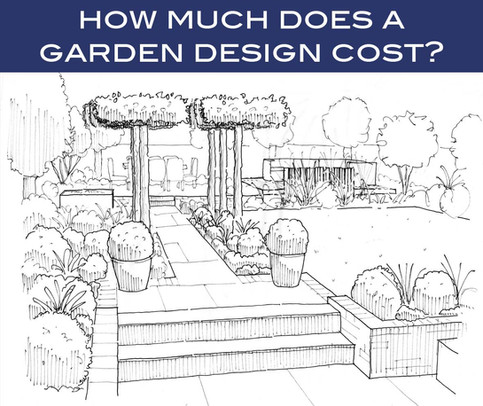 How much does a garden design cost?