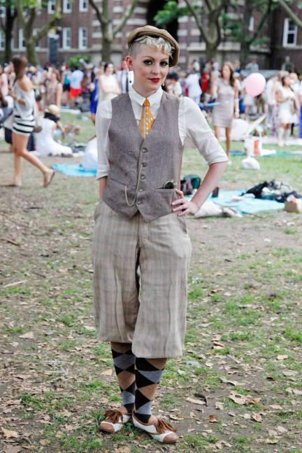 Jazz Age Lawn Party by Elle Magazine