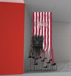 Art Installation - 3D Visualisierung
