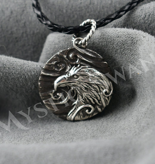 Spirit Eagle Necklace/Pendant in Sterling Silver