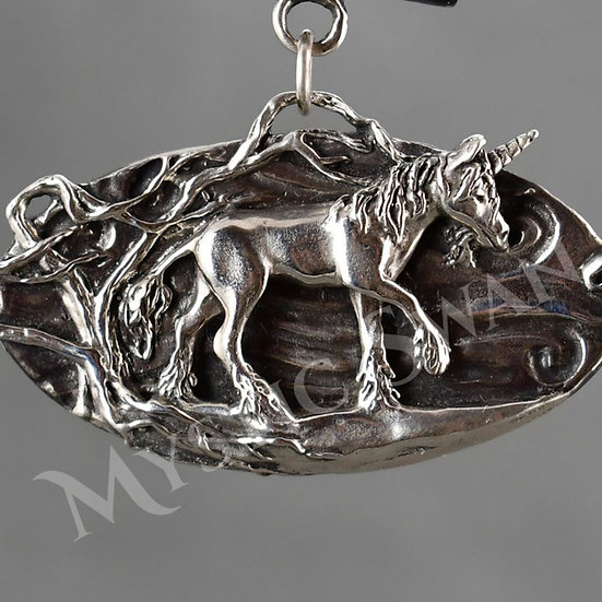 Unicorn Pendant/Necklace Available 4 Different Ways in Sterling Silver