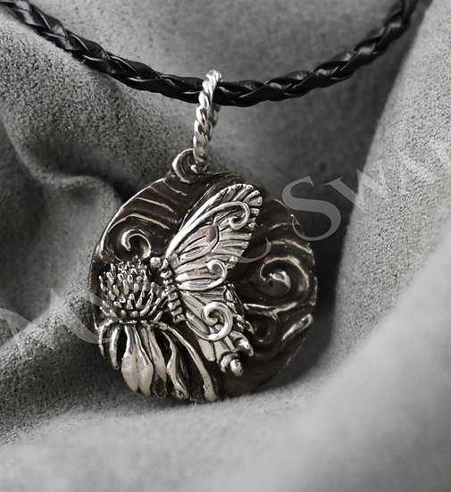 Spirit Butterfly Necklace/Pendant in Sterling Silver