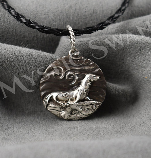 Spirit Seal Necklace/Pendant in Sterling Silver